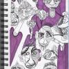 Abstract Sharpie Pen Illustration