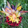 Autumn Leaf Land Art
