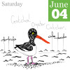 Oyster Catcher Illustration for 30 Days Wild