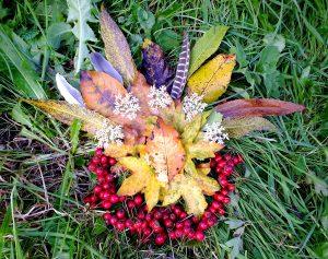Autumn Leaf Art