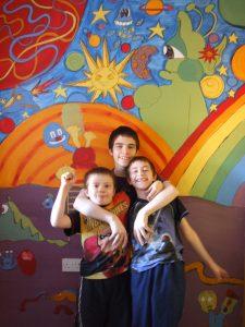 Childrens Alien Wall Mural