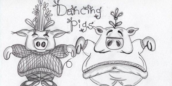 Dancing Pig Sketch