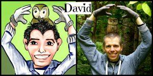 David Cartoon Illustration