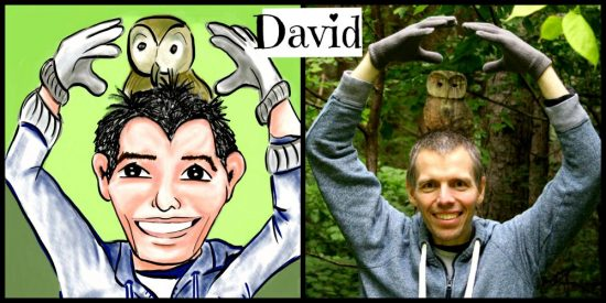David Cartoon Illustration