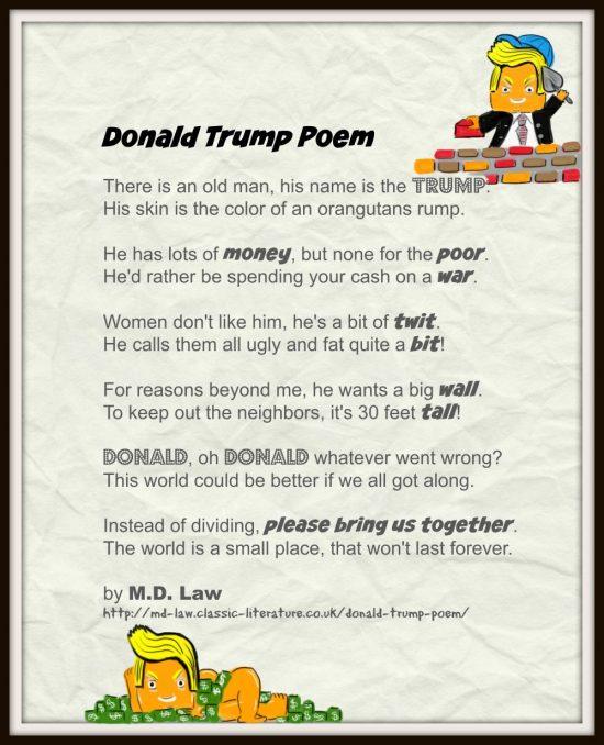 Donald Trump Poem