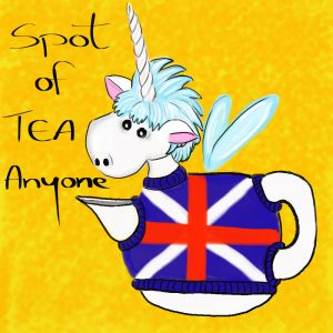 Funny Teapot Illustration