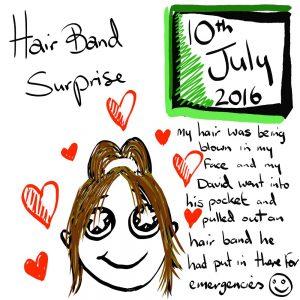 Hair Band Illustration