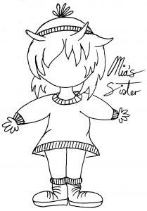 Mia's Sister Sketches