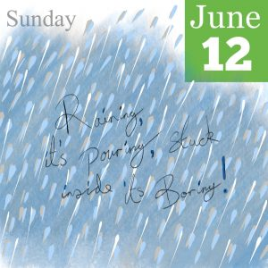 Raining it's Pouring Illustration