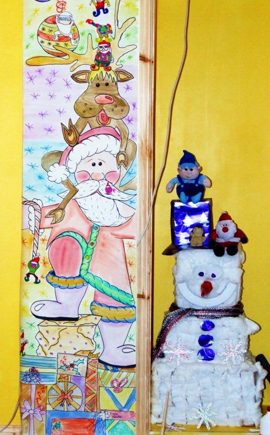 Santa Christmas Wall Mural