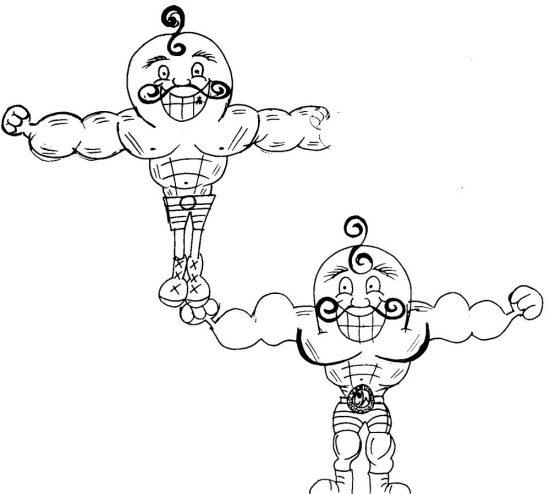 Strongest Strongman Sketch Ideas