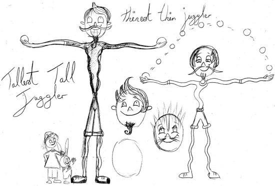 Tallest Tall Juggler