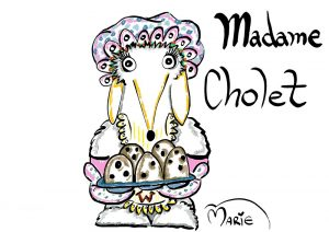 Womble Madame Cholet Illustration