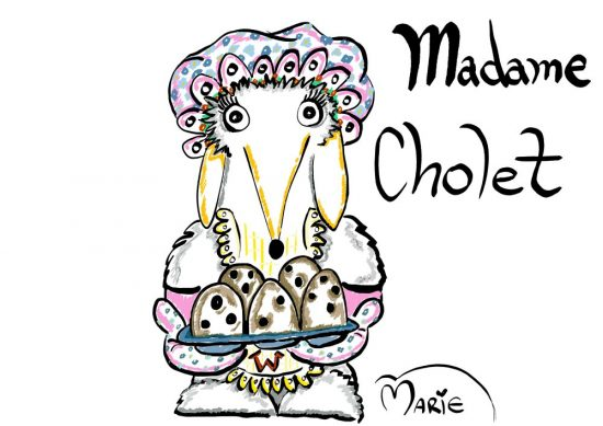 Womble Madame Cholet Illustration