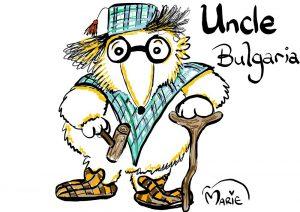 Womble Uncle Bulgaria Illustration