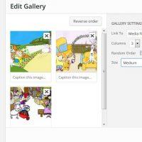 WordPress Insert Gallery