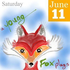 Young Fox Illustration